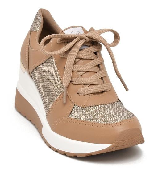 Tenis Via Marte 193353 Sneaker Feminino Flatform Lançamento!
