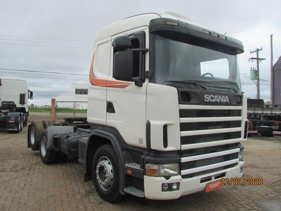 Scania 124 R420 6x2 - Unico Dono