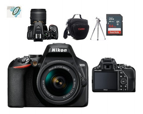 Nikon D3500 18-55mm Vr + Bolsa + Tripé + 64gb Classe 10