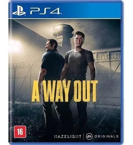A Way Out Ps4 Mídia Física Nacional Lacrado Novo Rj