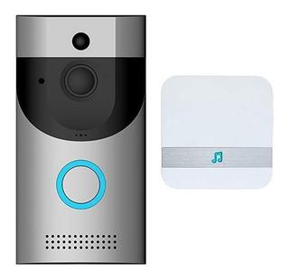 Wifi De La Cámara De Video Inalámbrico Timbre De La Puerta,