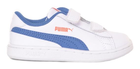Zapatillas Puma Smash V2 L V Inf Adp Niño