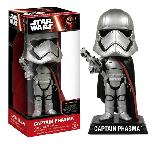 Star Wars The Force Awakens Captain Phasma Wacky Wobbler