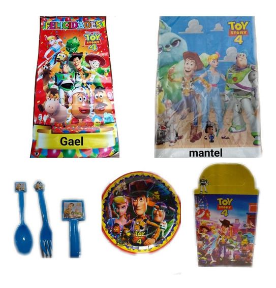 Toy Story Paquete Fiesta Articulos Set Kit