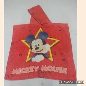 Poncho Mickey - Ótimo Para Saida De Praia/piscina
