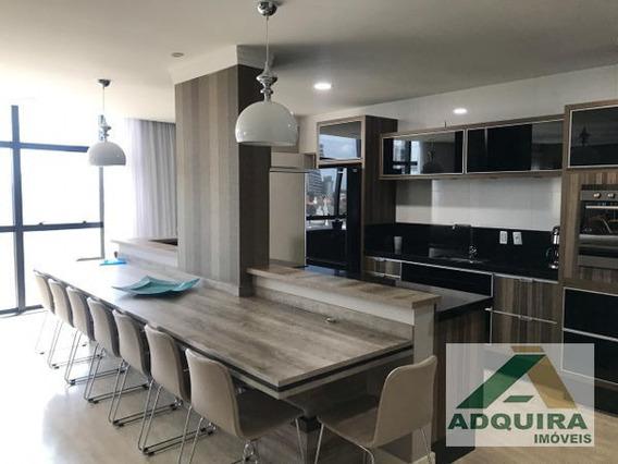 Apartamento Padrão Com 3 Quartos No Edifício Renoir - 4563-v