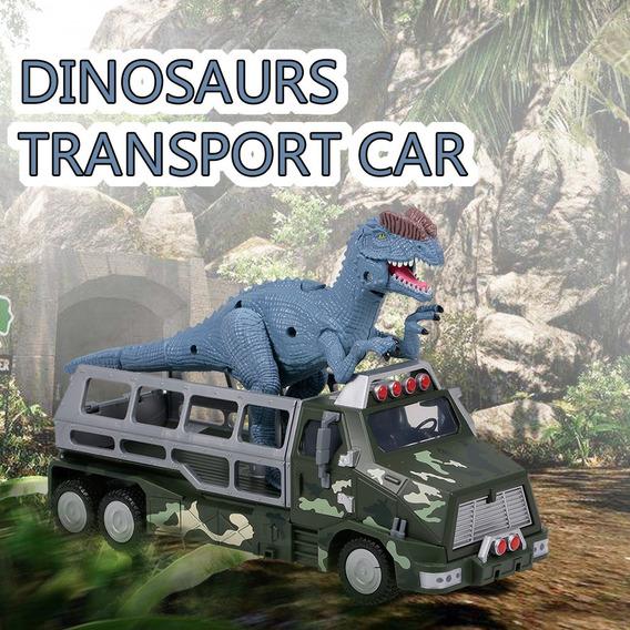 Dinosaurios Transporte Coche Carrier Camión Juguete Dilophos