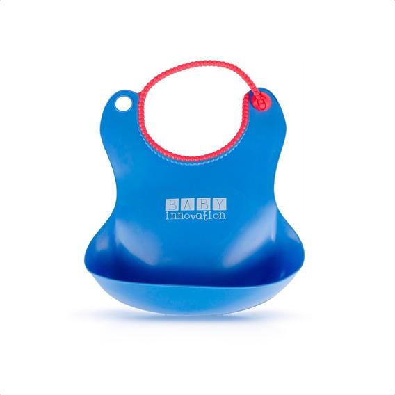 Babero Impermeable Con Bolsillo Contenedor - Baby Innovation
