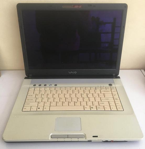 Carcaça Completa Notebook Sony Vaio Pcg-7n2l - Usado