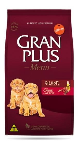 Raçao Gran Plus Filhotes Carne Arroz Menu 15 Kg