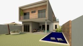 Imagem 1 de 4 de Fam755 Bela Casa Em Construção De Frente A Lagoa Em Itapeba!