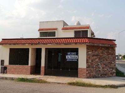 Casa En Renta Al Poniente De Mérida, En Zona Opixen