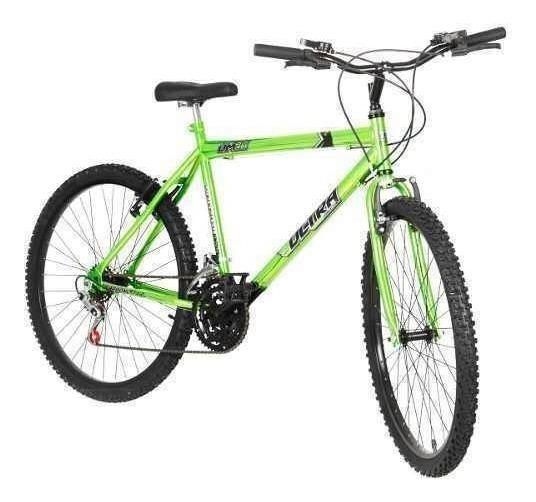 Bicicleta Bike Ultra Masculino Aro 26 Green Freio V Brake