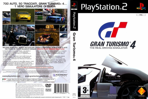 Gran Turismo 4 - Ps2 Desbloqueado, Patch