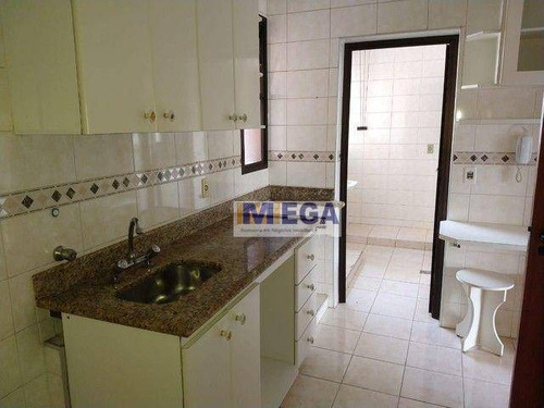 Apartamento Com 2 Dormitórios À Venda, 70 M² Por R$ 420.000 - Mansões Santo Antônio - Campinas/sp - Ap5194
