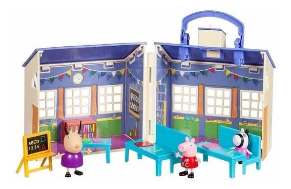 Escola Peppa Pig + Onibus Escola Da Peppa Pig Frete Grátis