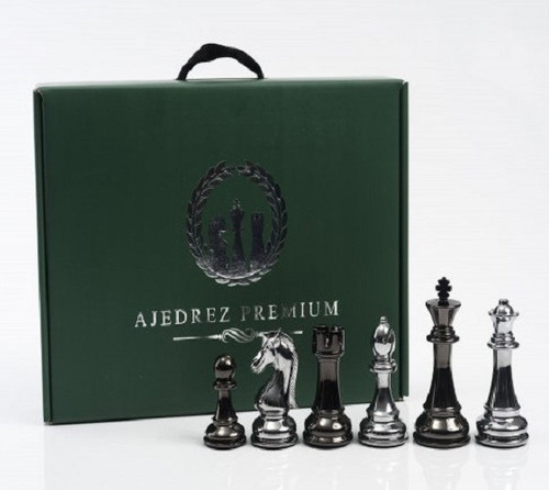 Ajedrez Profesional Simil Metal (premium)