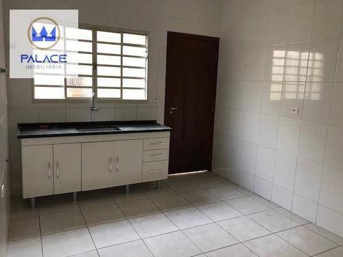 Casa À Venda, 115 M² Por R$ 225.000,00 - Residencial Santo Antônio - Piracicaba/sp - Ca0370