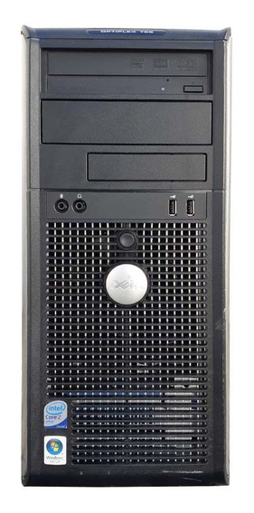 Pc Cpu Dell Torre Core 2 Duo 2gb Ddr2 Hd320gb Leitor