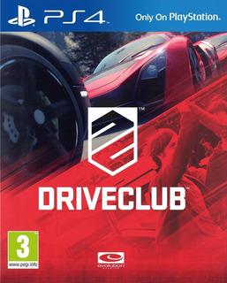 Driveclub Ps4 - Juego Fisico - Cjgg