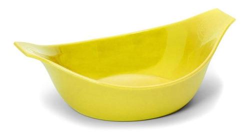 Comedouro Gato 2 - Amarelo .