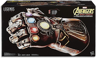 Avengers Infinity - Guante Deluxe (luces, Sonidos Y Mov.)