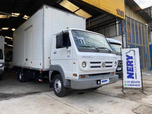 Caminhão Vw 8.150 Delivery Plus Ano 2011 Bau Un.dono