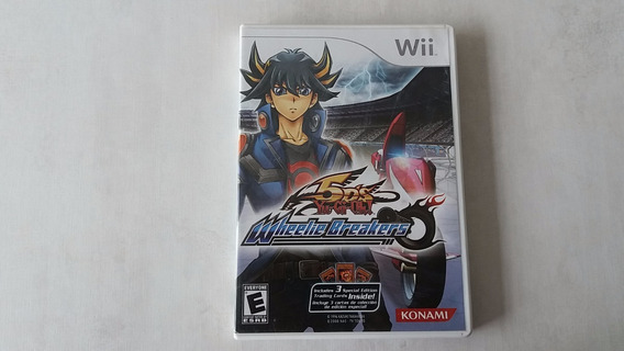 Yu Gi Oh 5ds Wheelie Breakers - Wii - Original - Fisica