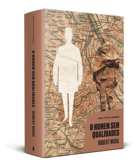Livro O Homem Sem Qualidades (biblioteca Áurea)novo Lacrado