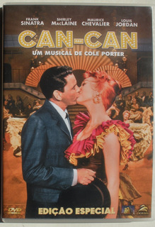Dvd - Can - Can - Frank Sinatra Shirley Mclaine Imp. Brasil