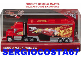 Disney Cars 3 Mack Hauler Caminhão Do Mcqueen Origin Mattel