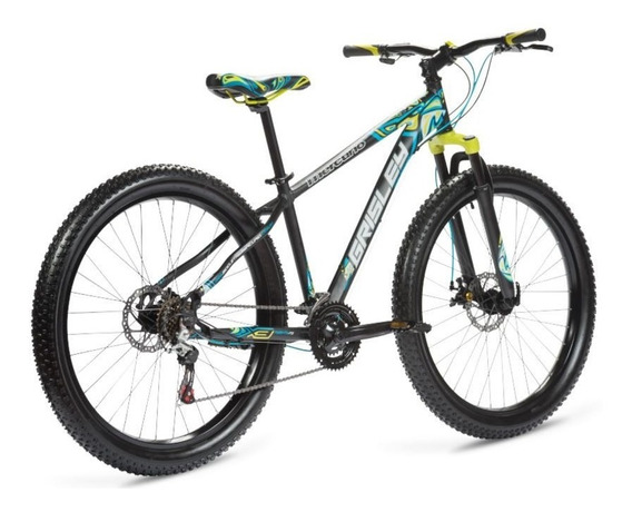 Bicicleta Mercurio Grisley Rod 27.5 Alum Fat 3.0 2019