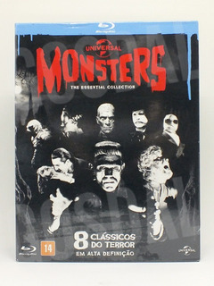 Blu Ray Monsters Essencial Collection 8 Filmes Envio R$12