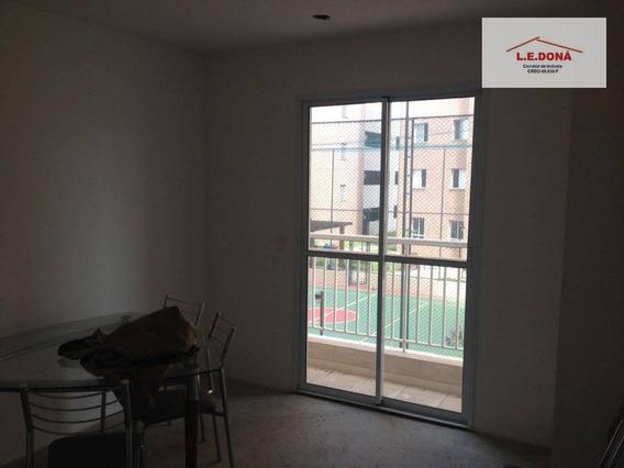 Apartamento Com 2 Dormitórios À Venda, 64 M² Por R$ 330.000,00 - Jaguaré - São Paulo/sp - Ap1606