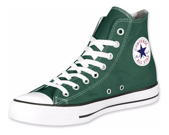 Botitas Converse All Star Verde Pine! 100% Original!