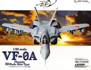Macross Zero 1/60 Vf-0a Phoenix Kudou Shin Arcadia