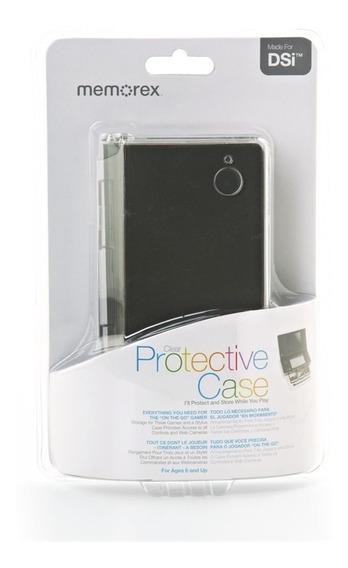 Estojo Proteção C/ Compartimento Em Acrilico P/ Nintendo Dsi