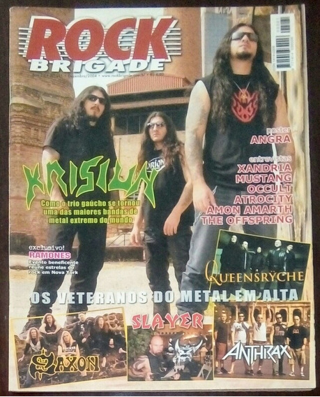 Revista Rock Brigade Ano 23 N°221