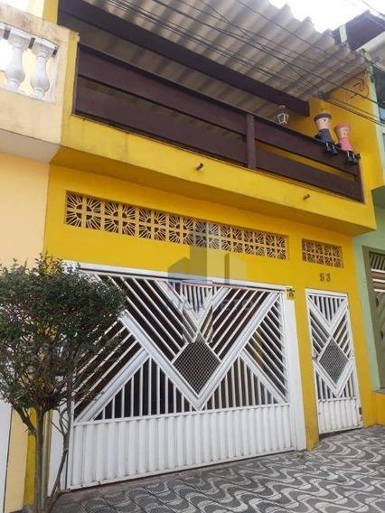 Sobrado Com 2 + 3 Dormitórios À Venda, 288 M² Por R$ 420.000 - Vila Falchi - Mauá/sp - So0166