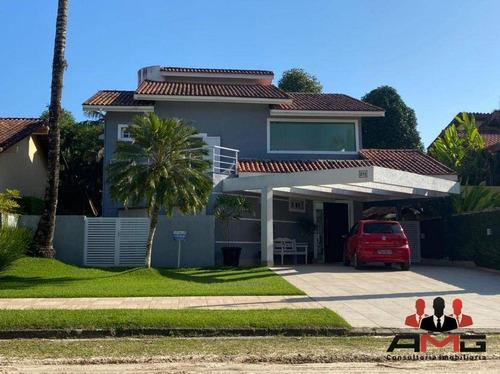 Imagem 1 de 23 de Casa Com 4 Dormitórios À Venda, 370 M² Por R$ 4.000.000,00 - Riviera - Módulo 18 - Bertioga/sp - Ca1014