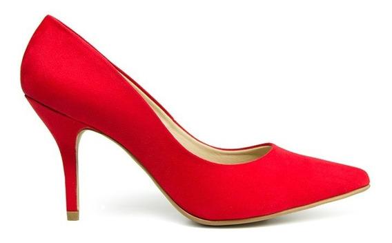 Trender Zapatilla De Tacón Color Rojo