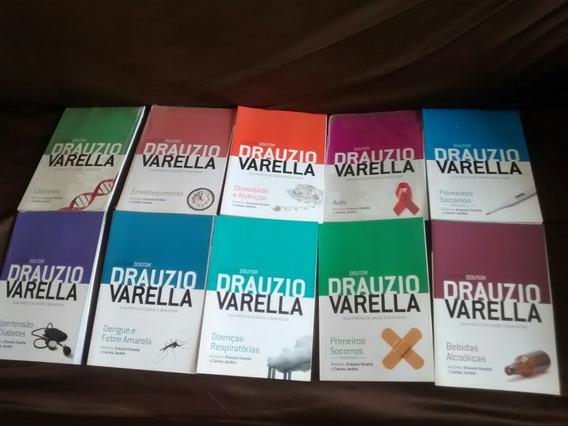 Lote De 10 Livros Doutor Drauzio Varela