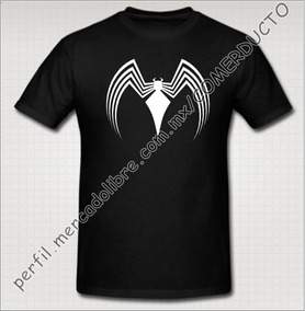 Playera Venom 2 Playera Spider Man Negra Spiderman Vsjm