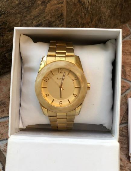 Relógio Euro Dourado L