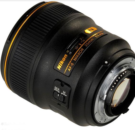 Lente Nikon 35mm 1.4g