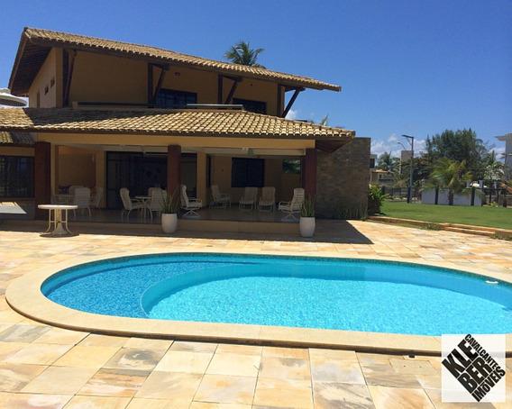 Maravilhosa Casa De Frente Para O Mar De Vilas Do Atlântico, R$1.800.000,00 Www.klebercavalcante.net 30289999/999554321 - Ca00053