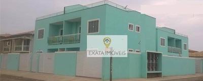 Casa Tipo Apartamento, Quintal Independente, Enseada Das Gaivotas, Rio Das Ostras. - Ca0668