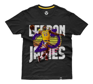 Camiseta Basquete Lebron James