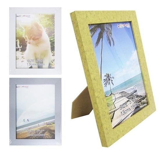 Porta Retrato 13x18cm Luxo Vidro Foto Familia Namorados