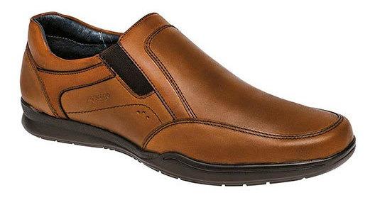 Merano Sneaker Escolar Piel Niño Camel Bth77237